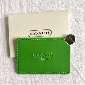 Coach Card Sized Mirror
